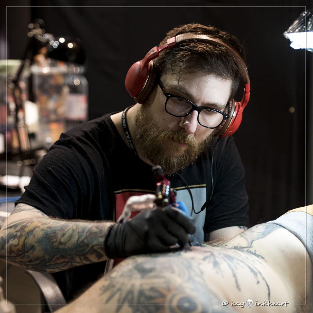 Doc Garlato,  Water Law Tattoo Pro Team