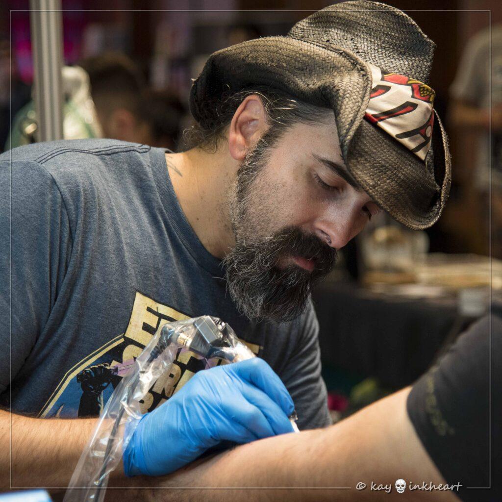 """Piero """"Tat-Twin"""", Water Law Tattoo Pro Team"""