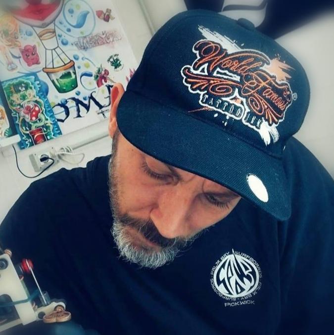Alessio Coccetti, Water Law Tattoo Pro Team