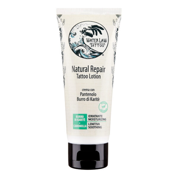 Crema per Tatuaggi Vegana Water Law Tattoo, Natural Repair 50 ml fronte