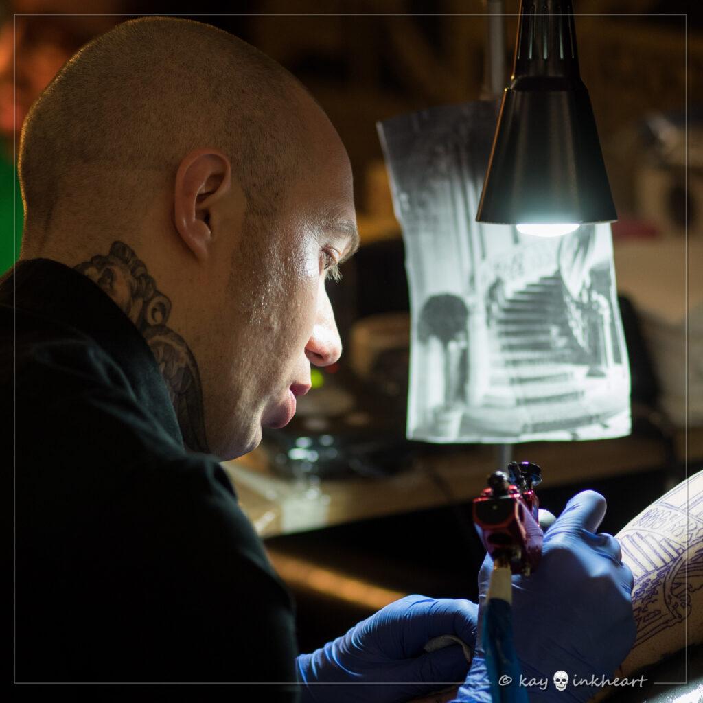 Giovanni Speranza, Water Law Tattoo Pro Team