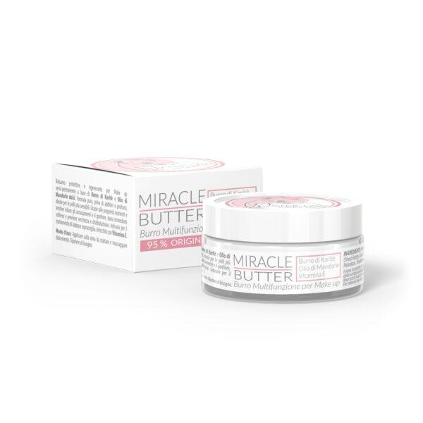Crema post trucco permanente Miracle Butter Pure Formula. Vasetto da 15 ml